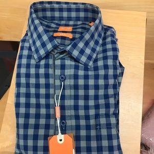 Hugo Boss Shirt, Slim fit, Checkered